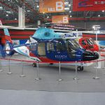 china helico static display